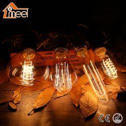 Lâmpada Retro E27 Filamento Luz 220 V Lâmpada Incandescente Espiral Luz De Fadas Do Vintage Edison Lâmpada Lampada Ampola Bombillas