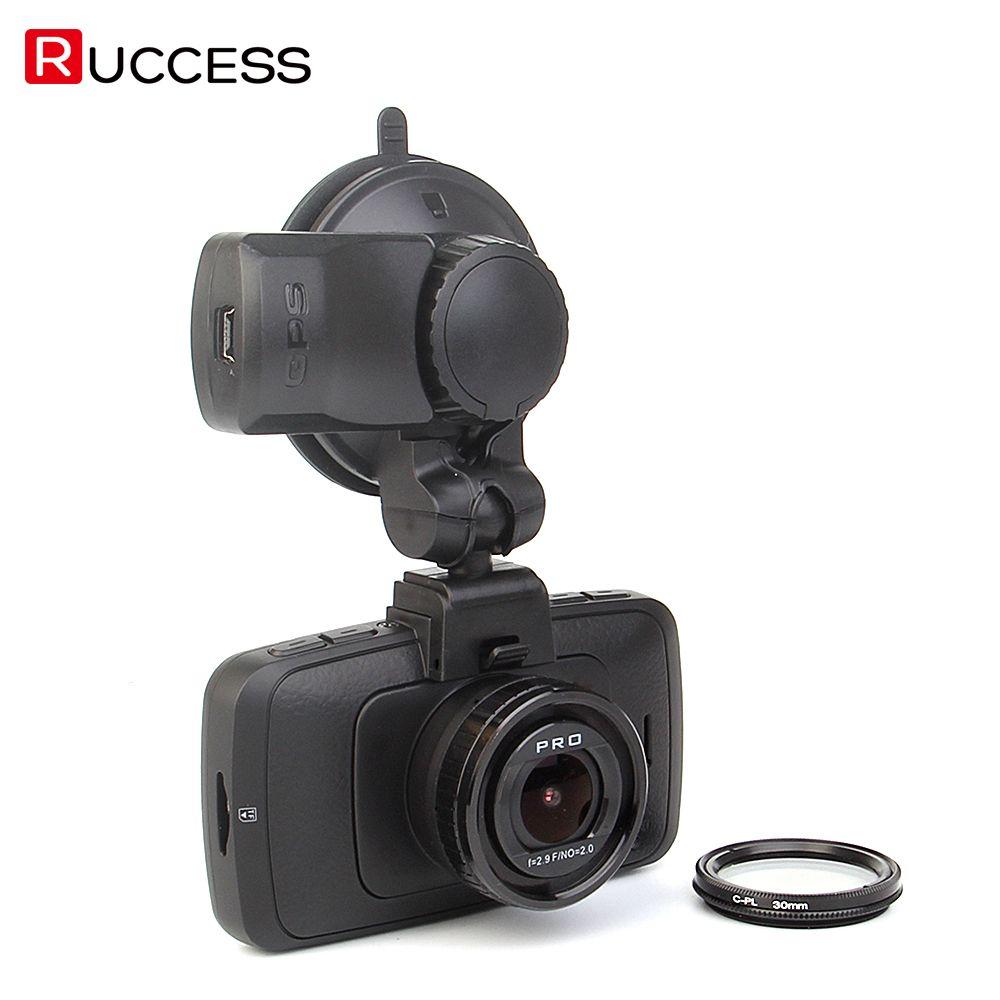 Ambarella A7LA70 A7810G Auto DVR GPS Kamera DVRS Super HD 1296 p WDR Nachtsicht DashCam 1080 p Black Box CPL A7810
