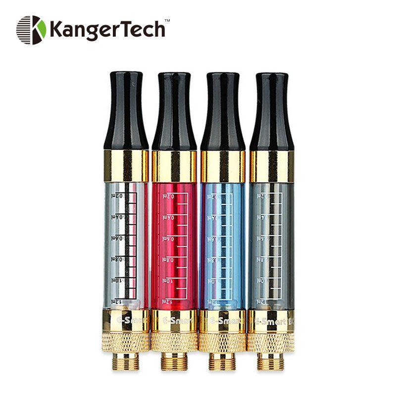 Original 5 stücke Kangertech e-smart BCC Clearomizer 1,2 ml W/1.8ohm Spule für 510/eGo/ego-t/eGo-C/ego-c Twist Batterie BCC Vape Tank