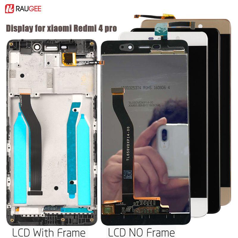 Pour Redmi 4 Pro LCD écran tactile numériseur remplacement pour Xiaomi Redmi 4 Pro Prime affichage testé Lcd capteur pièces 5.0