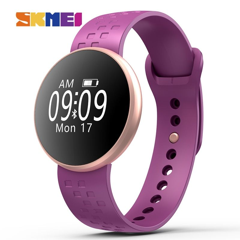 Mode Frauen Smart Uhr für Iphone IOS Android Fitness Schlaf Überwachung Wasserdichte Fernbedienung Kamera GPS Auto Wake Bildschirm Uhr