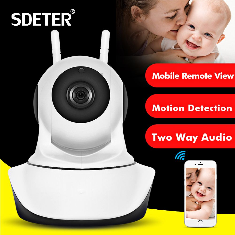 SDETER <font><b>1080P</b></font> 720P CCTV Camera HD IP Camera WI-FI Wireless Home Security Camera Plug And Play PTZ P2P Night Version Indoor Camera