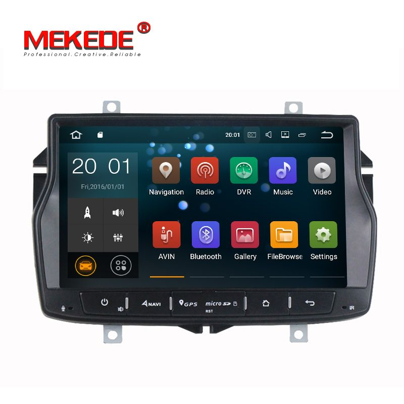 PX3 Android7.1 Quad-core Car radio cassette for LADA Vesta free shipping mic map gift with GPS Ipod 4G wifi RDS support SWC