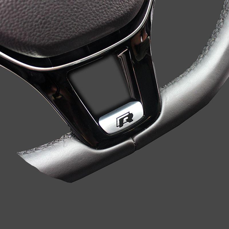 car styling car sticker badge R Rline R-LINE emblem for VW Volkswagen  Jetta touran Golf 7 POLO 5 6 7 MK7 Passat accessories