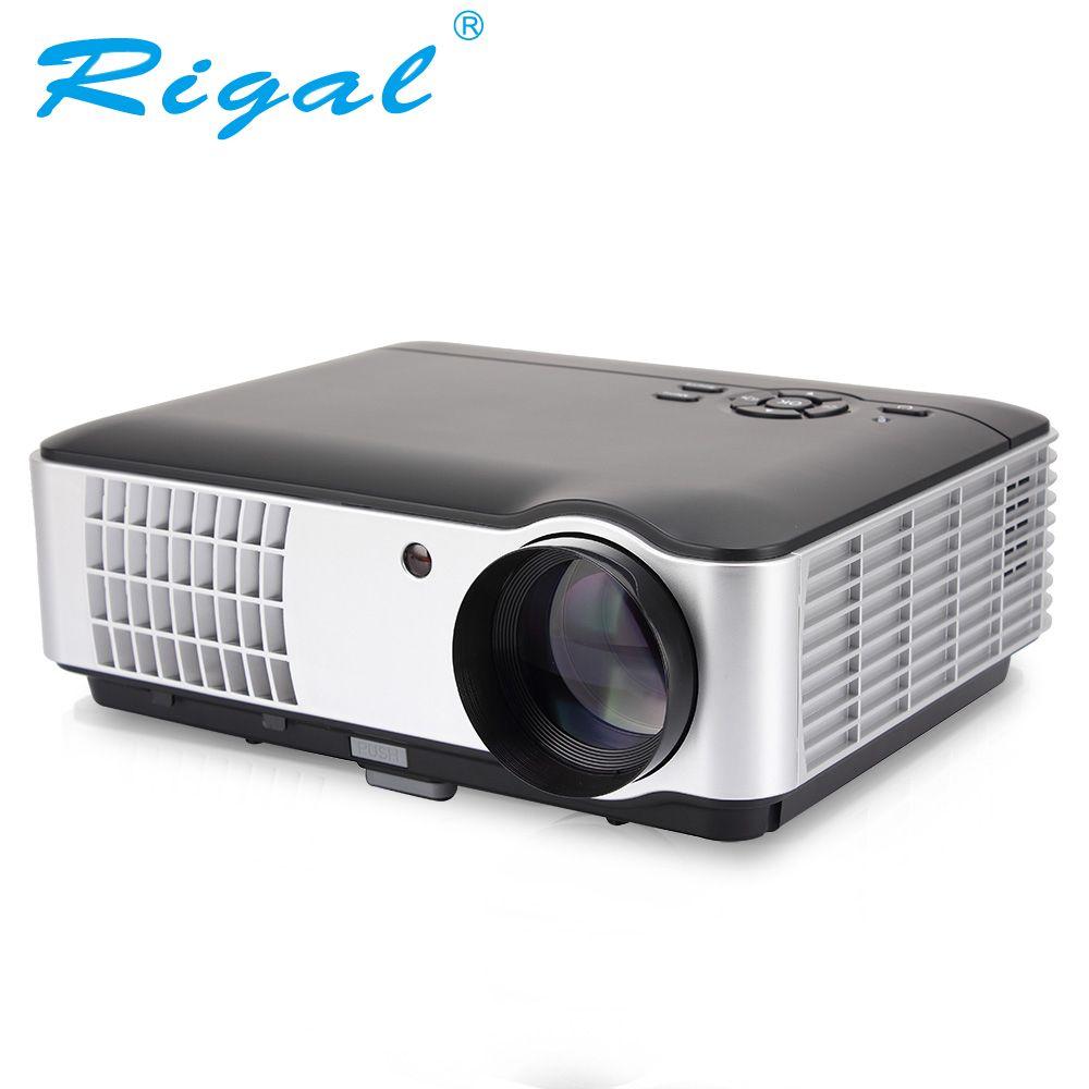 Rigal Projektor RD806A LED Projektor Android 6.0 WIFI 5000 Lumen Beamer 3D 720 P Tragbare Heimkino HD Projektor RD806 RD-806