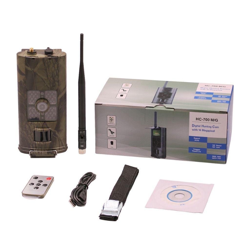 HC-700G 16MP 940nm Night Vision Hunting Camera 3G Photo Trap GPRS MMS SMTP SMS 1080P Wildlife Animal Trail Cameras