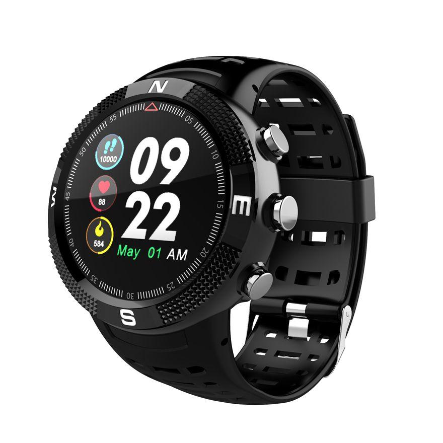 NO. 1 F18 Smartwatch Sport Bluetooth 4,2 IP68 Wasserdichte Call Nachricht Erinnerung Schrittzähler Schlaf Überwachung GPS Smart Uhr