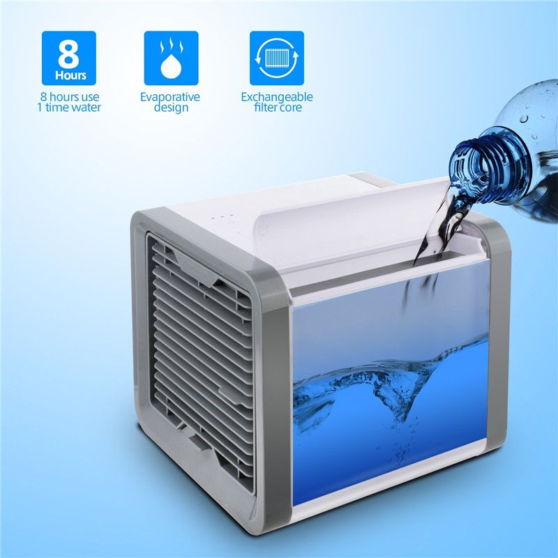Airco COOL Air Conditioner Fan Air Cooler Arctic Air Personal Space Cooler 3-IN-1 Cooler Humidifier Purifier ventilator
