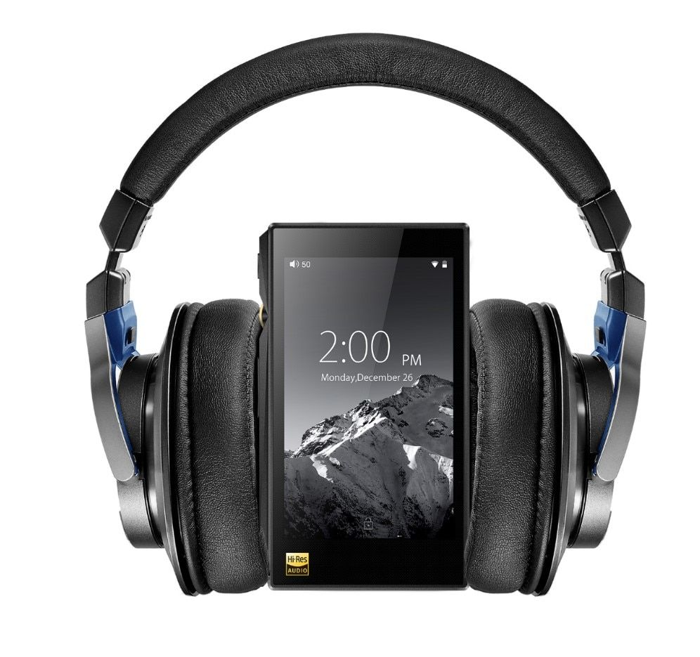 Bundle Sale of FiiO Android-based WIFI Bluetooth APTX Lossless DSD Music Player with 32G X5iiiWith Audio-technica MSR7 Headphone