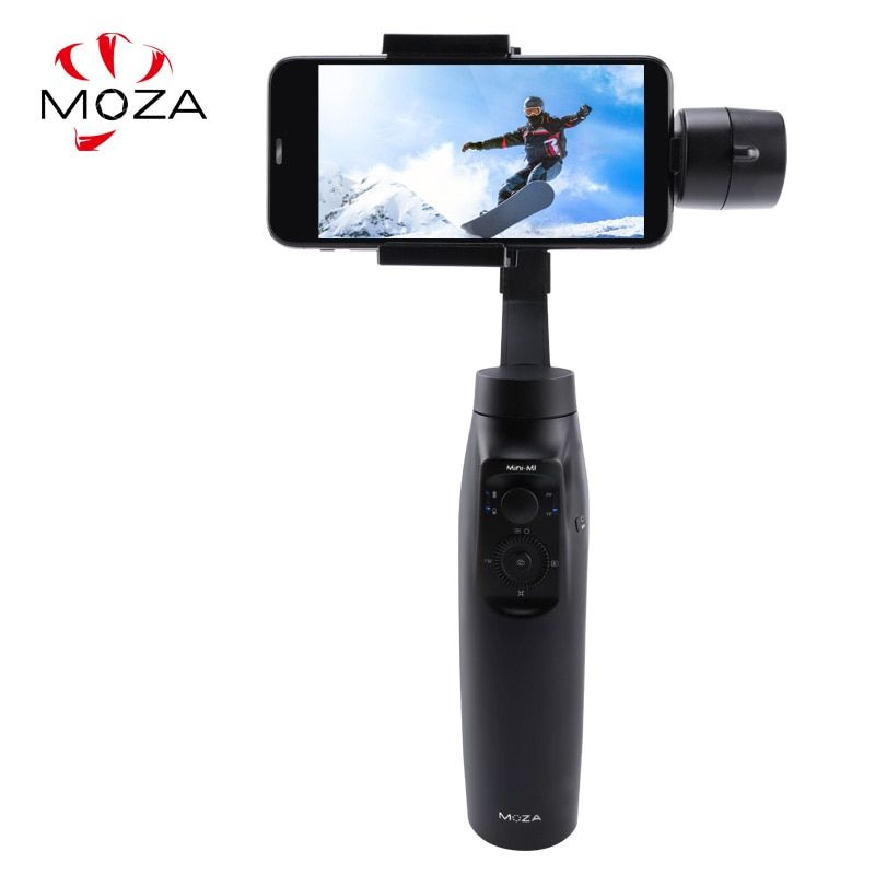 MOZA MINI MI 3-Axis Handheld Smartphone Gimbal Stabilizer for iPhone X 8Plus 8 7 6S Samsung S9 S8 S7 VS Zhiyun Smooth Q 4 Vimble
