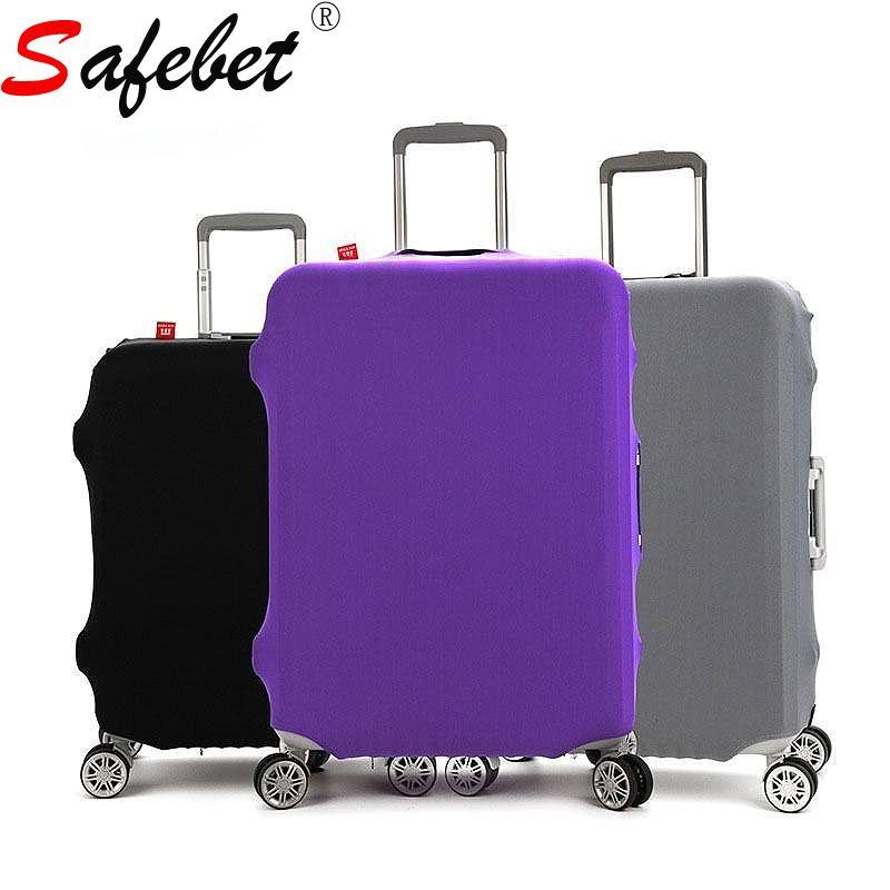 Туристические товары багажник Организатор поездки багаж чемодан защитная крышка чемодана эластичность стрейч дело тележки Пыль Покрывает