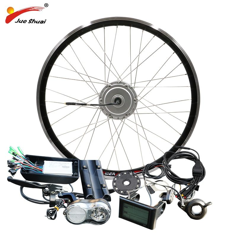 BAFANG Motor E-bike Kit 36V 48V 250W 350W 500W BPM Hub Motor Front 8FUN BAFANG Motor Bicycle Electric Bike Conversion Kit