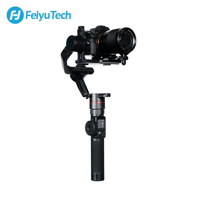 FeiyuTech AK2000 3-Axis Camera Stabilizer Gimbal with Focus Ring for Sony Canon 5D Panasonic GH5 Nikon 5D 2.8 kg Payload Feiyu