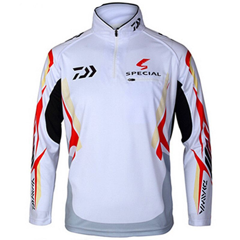 Outdoor sportswear DAIWA Fishing shirt Anti-UV protection Hiking Fishing clothes tackles angler sports apparel Anti mosquito