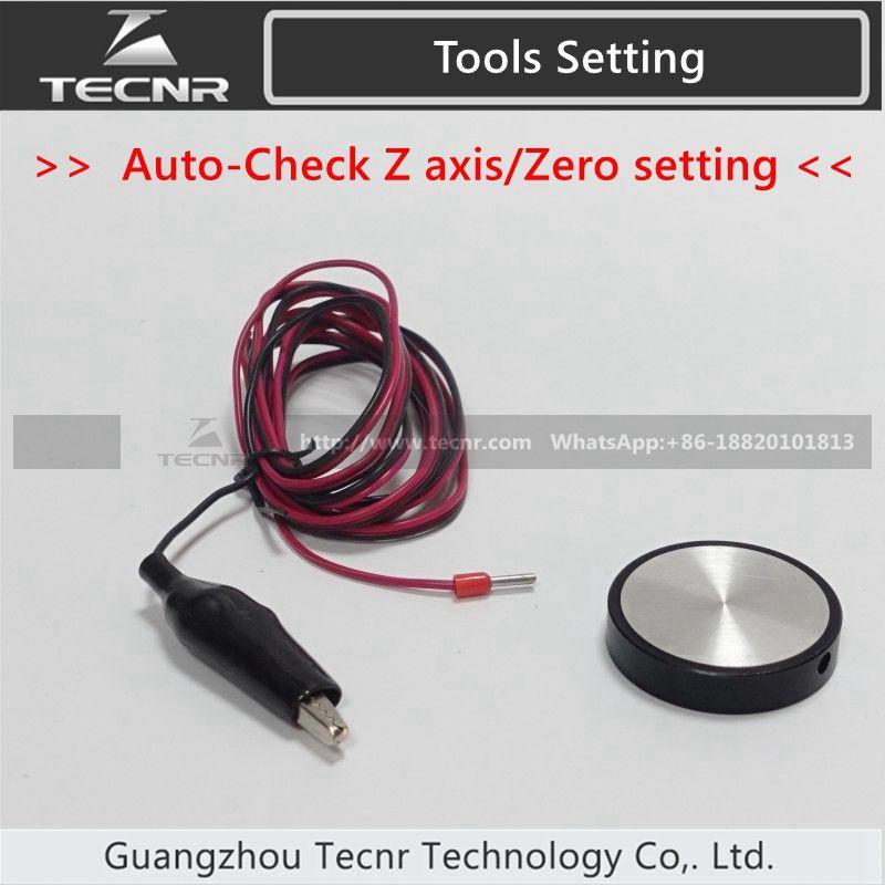 CNC Router Engraving Machine Tools Setting Auto-Check Z axis Instrument Zero setting sensor