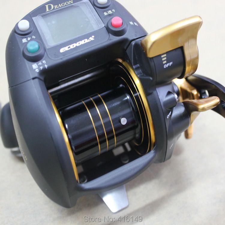 Ecooda drache 7000lb 30 kg starke elektronische boot angelrolle