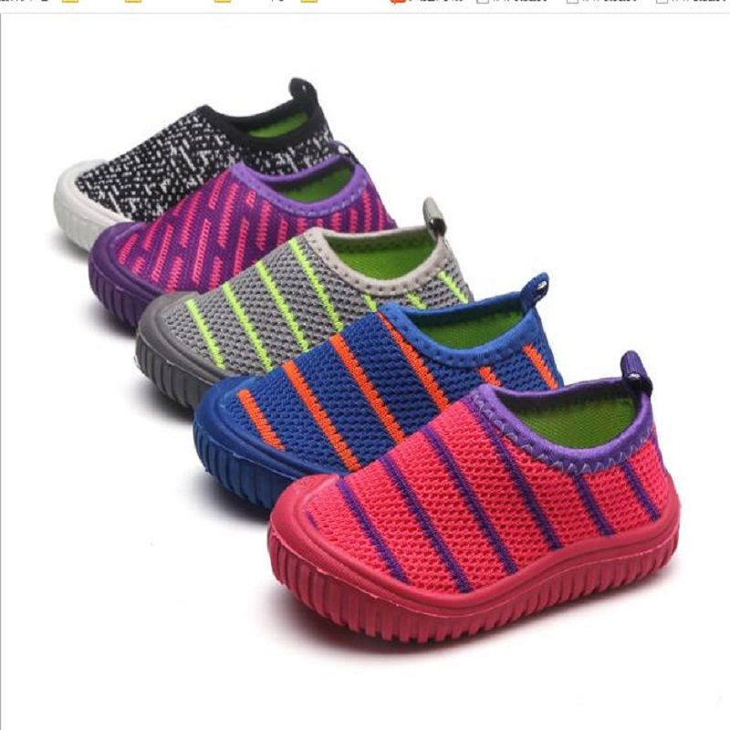 KIDS HX01112018 Canvas Children Shoes Sport Breathable Boys Sneakers Brand Kids Shoes for Girls Jeans Denim Casual Child Flat