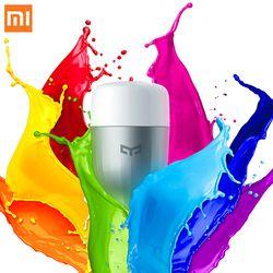 XiaoMi Coloré APP WIFI À Distance Smart Control LED Lumière RGB/Coloré température Romantique lampe ampoule Yeelight XiaoMi