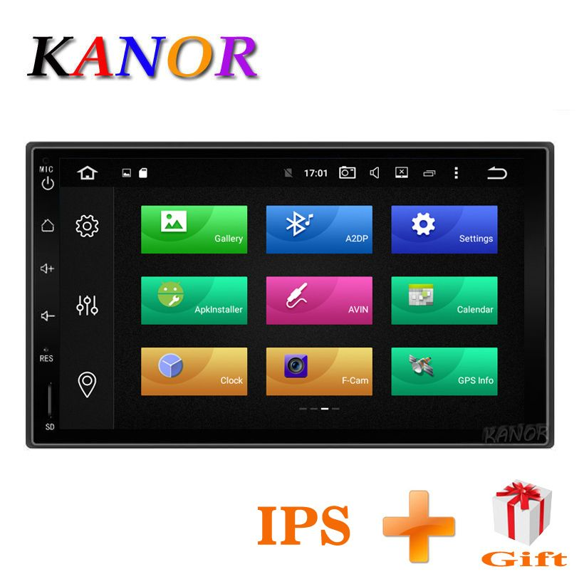 KANOR Octa Core RAM 4g 2 Din Android 8.0 Car Audio Stereo Radio For Nissan Qashqai X-Trail Patrol Pathfinder Paladin Frontier
