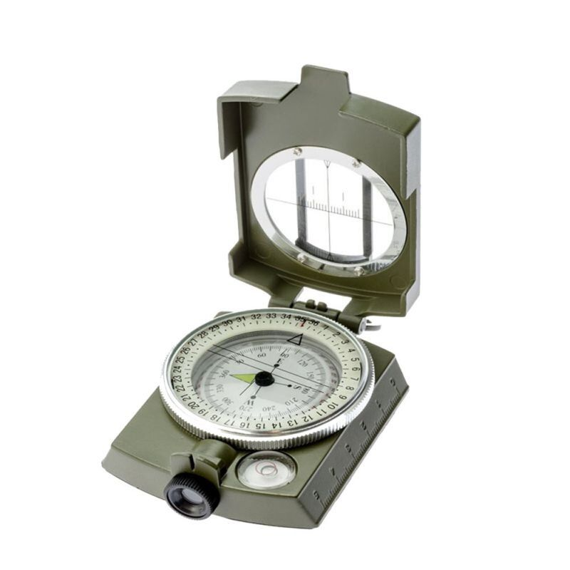 Waterproof Professional compass Military Army Geology Compass Sighting Luminous Compass for Outdoor Hiking Camping 43bp