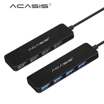 100% Haute Vitesse USB HUB 2.0 3.0 splitter Externe 4 Port USB adaptateur USB Hub pour Ordinateur Portable 4 Ports Adaptateur Ordinateur Portable Accessoires