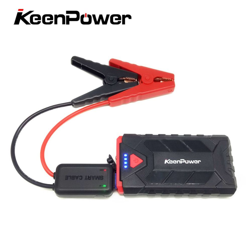 12V Petrol Auto Portable 500A Emergency Starting Device 8600mAh Car Batteries Charger Car Jump Starter Booster Safety Power Bank