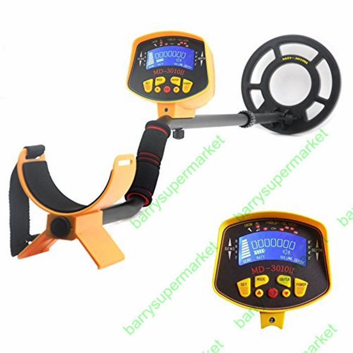 Professional Metal Detector Underground gold silver finder detector tracker seeker hunter MD3010II treasure digger long distance
