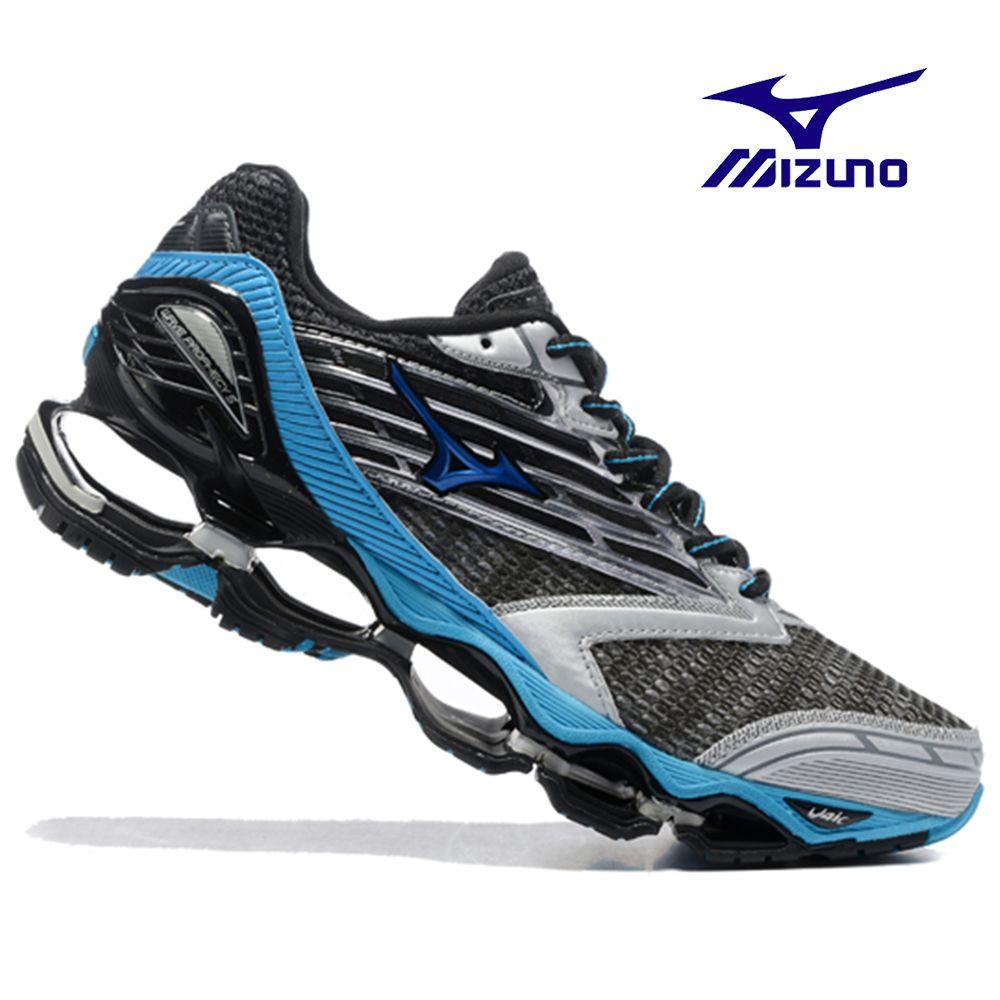 Mizuno Wave Prophecy 5 профессиональные кроссовки 6 Цвет Новый стиль Мужская обувь кроссовки тяжелой атлетике обувь Размер 40-45