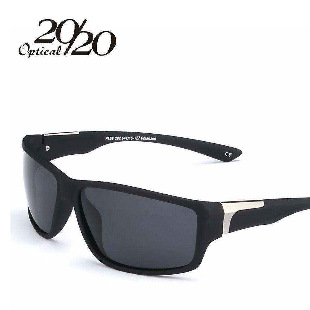 2017 Nouveau Lunettes de Soleil Polarisées Mâle Top Qualité Hommes lunettes de Soleil Conduite De Mode Voyage Oculos de Lunettes Marque UV400 Hommes PL69