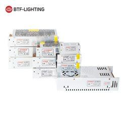 5 V 2A/3A/4A/5A/8A/10A/12A/20A/30A/40A/60A Commutateur LED Alimentation Transformateurs WS2812B WS2801 SK6812 SK9822 APA102 LED Bande