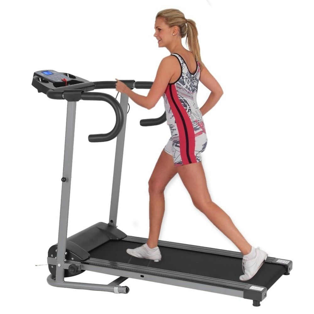 Hewolf 2018 New Treadmill Fitness Electric Treadmill Exercise Equipment Motorized Treadmill Walking Running Gym Home sports