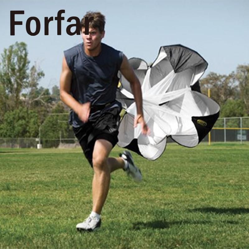 Forfar Speed Training Resistance Parachute Power Outdoor Running Chute Exercise Tool