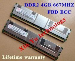 Для Hynix 4 ГБ 8 ГБ 2 ГБ ddr2 667 мГц PC2-5300 2rx4 fbd ecc памяти сервера fb-dimm оперативная память пожизненная Гарантия