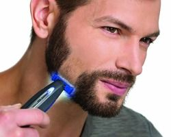 Men's Razor, Hair Removal Charging Beard Electric Men's Razor Color box packaging