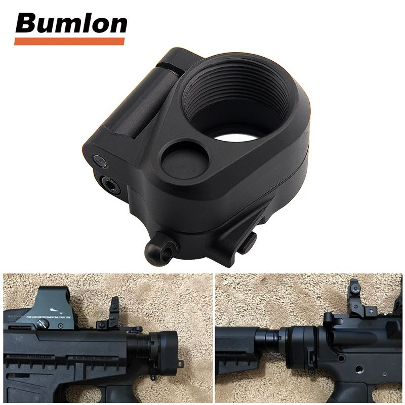 Hunting AccessoriesTactical AR Folding Stock Adapter For M16/M4 SR25 Series GBB(AEG) For Airsoft HT2-0042