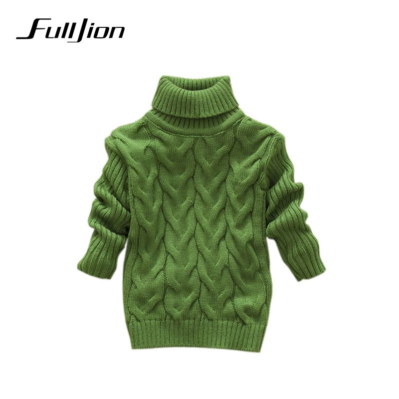 boys girls kids sweater knitted bottoming turtleneck shirts solid  unisex winter autumn pullovers  warm outerwear sweaters