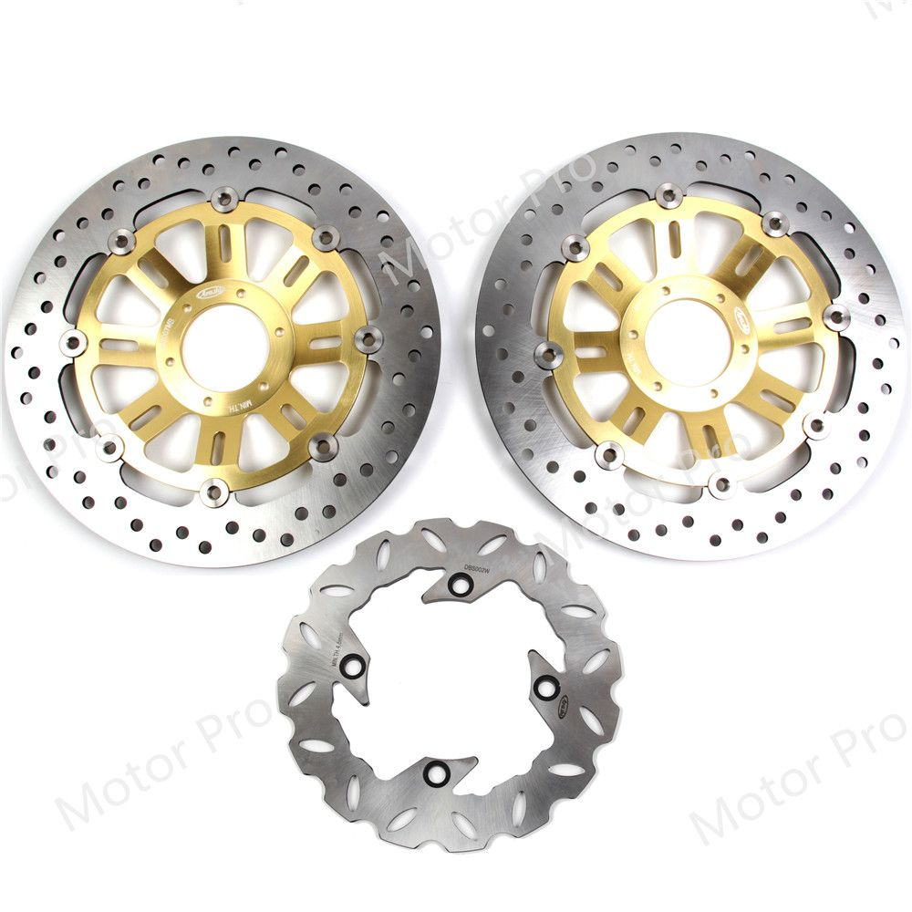 For Honda CB600F HORNET 1998 1999 Front Rear Brake Disc Disk Rotor Kits CB 600 F CB600 600F 98 99 Motorcycle Replacement Parts