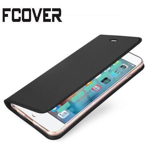Luxe style Book Étui En Cuir Pour Apple iphone 8 Plus Magnétique Portefeuille Étui de protection Flip Cover