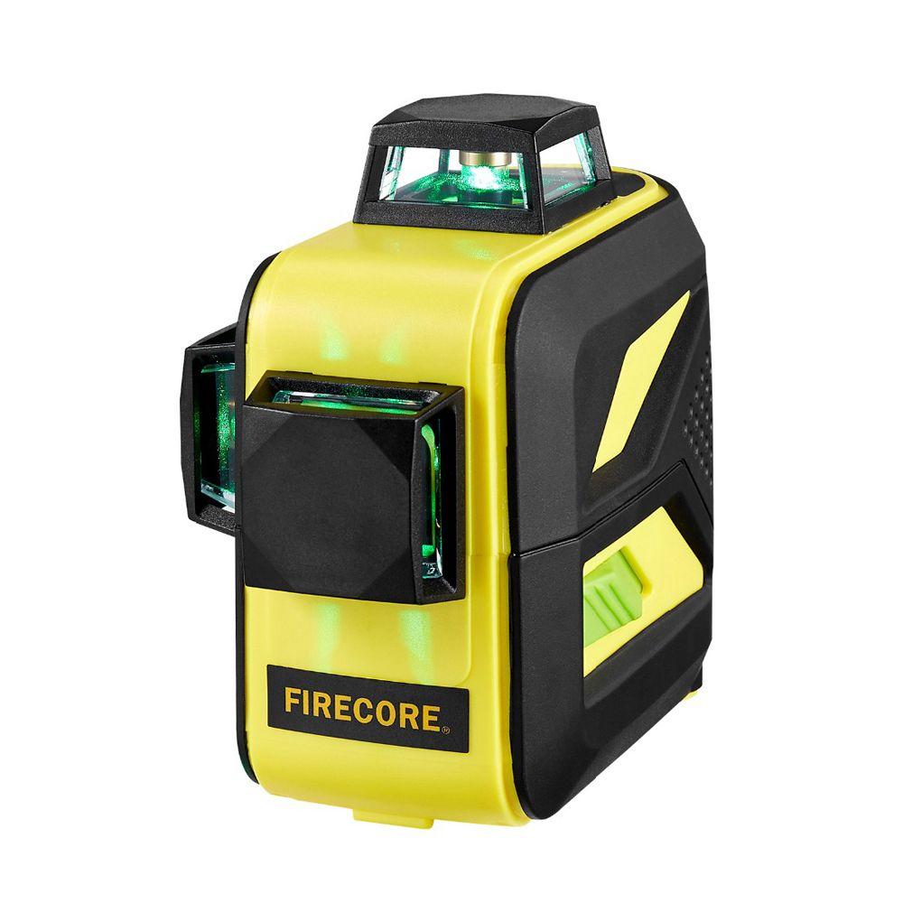 F93T-XR/F93T-XG 12 lignes batterie Lithium 3D rouge/vert niveau Laser + récepteur + support magnétique + trépied 3M