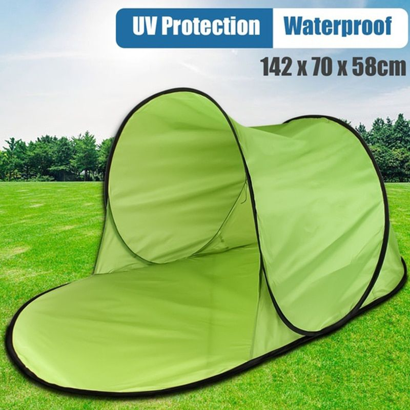 Beach Tent Ultralight Folding Tent Pop Up Automatic Open Tent Family Tourist Fish Camping Anti-UV Fully Sun Shade Hiking Beachs