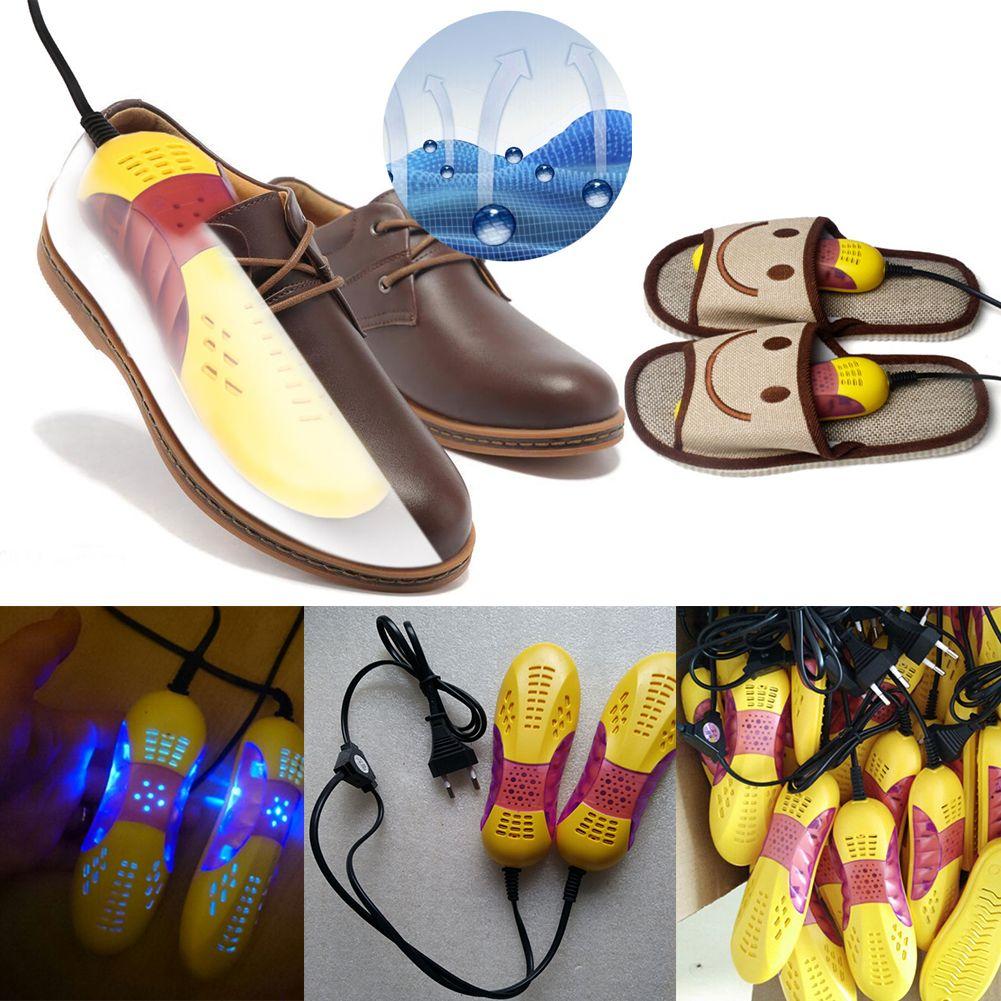 Сухой обувь кроссовки стерилизации теплой обуви для выпечки оборудования voilet Свет Сушилка дезодорант для ног нагреватель ЕС Plug