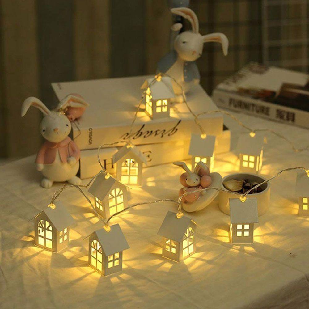 LED Guirlande Lumière De Corde Maison Chambre Décoration Chaîne Lampe Maison De Noce Vacances Guirlandes Nouveauté Night Light Lamp MYC