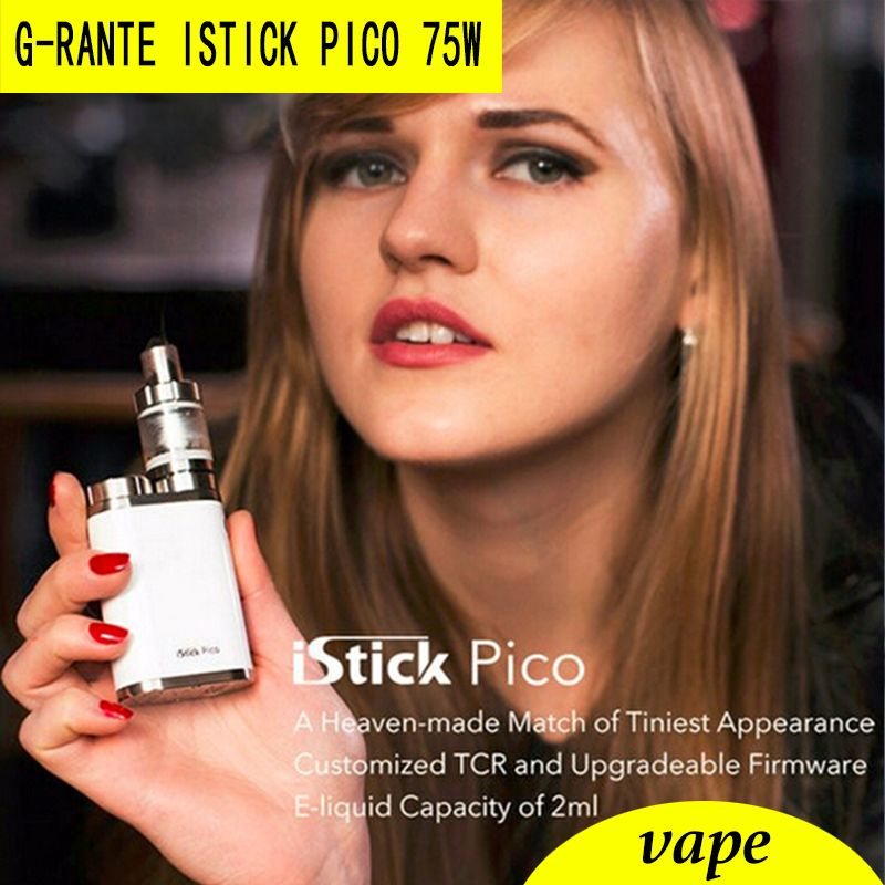 G-RANTE istick Pico 75W box mod/Kit Vape electronic cigarette add MELO 3 Mini  Atomize