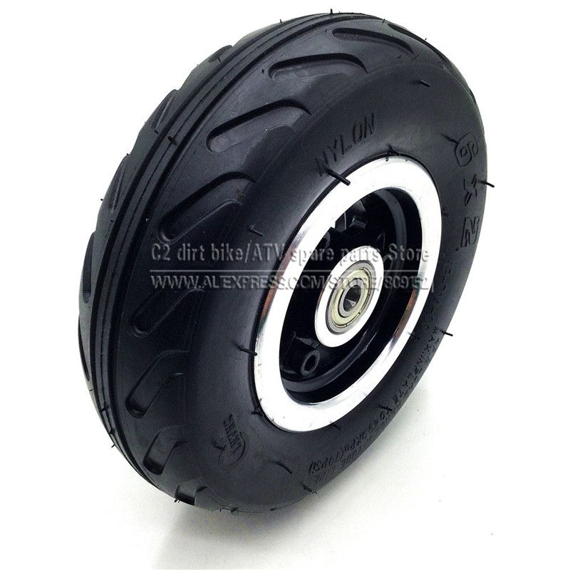 6 inch 6X2 Wheels set or Tire or Inner Tube Electric Scooter Wheel Chair Truck Use 6