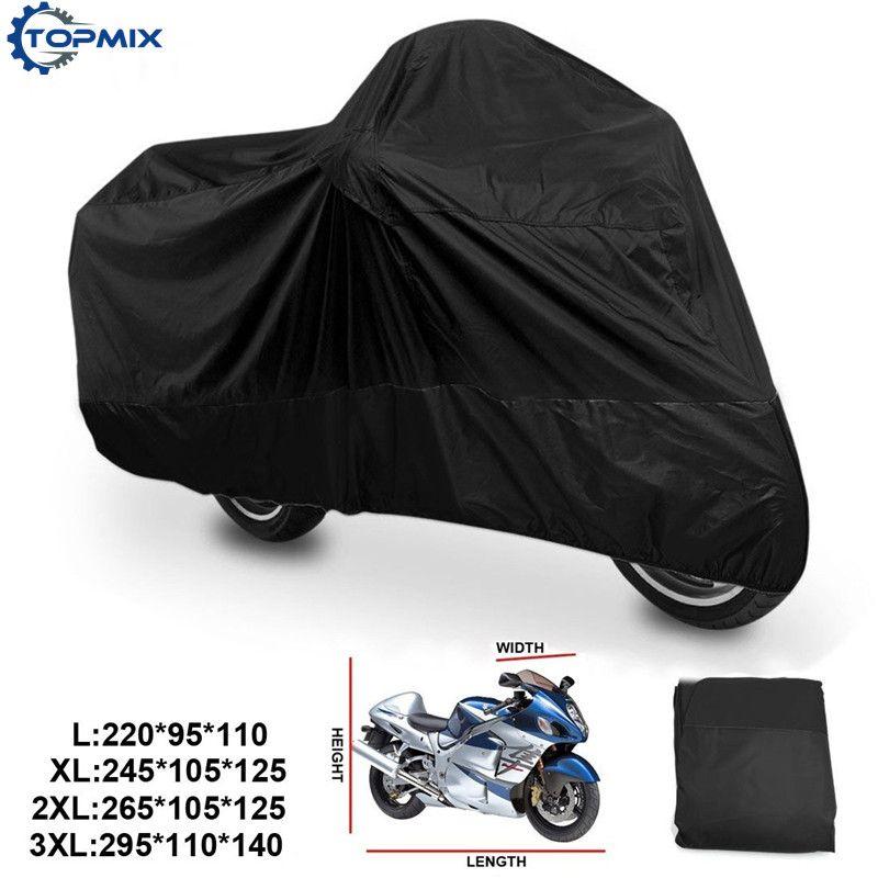 L/XL/XXL/XXXL 180 т дождя пыли крышка мотоцикла Открытый УФ Водонепроницаемый Подходит для Honda победы kawasaki Yamaha Suzuki Harley