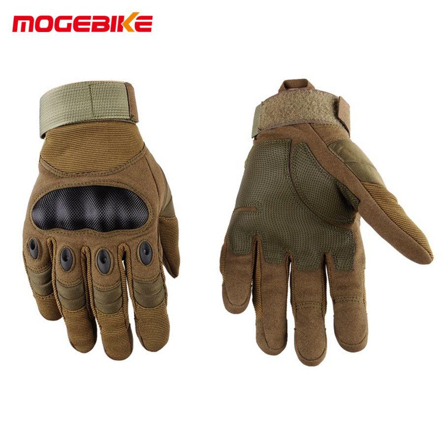 Men's Winter Gloves sports outdoor Full Finger gloves Motorcycle Gloves Sport Racing Motorbike Motocross <font><b>Protective</b></font> Gear Glove