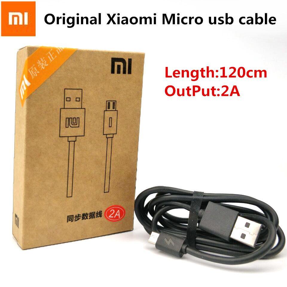 Original XIAOMI Ladegerät Kabel Für Redmi 4 4x1 s 2 s 3 s hinweis 4 4x 2 3 4 mi 4 3 2 Smartphone 2A Schnellladung Micro-usb-kabel