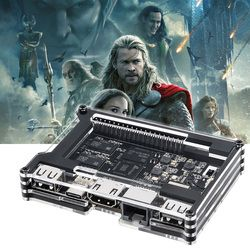 Khadas Vim Un Open Source TV Box Quad core OpenELEC Ubuntu Buildroot OS Amlogic S905X Double WiFi Bluetooth 4.2 DIY Set top boîte