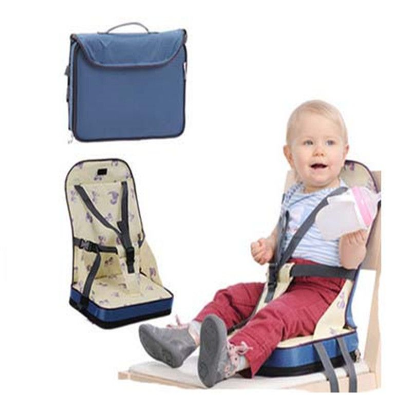 Baby Portable <font><b>Booster</b></font> Dinner Chair Oxford Water proof Chair Fashion Seat Feeding Highchair For Baby chair Seat christmas gift