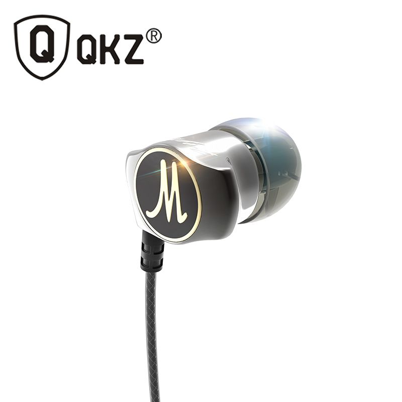 Earphones Original In-ear Earphone QKZ X10 Heavy Bass HIFI DJ WIred Fone de ouvido Earbuds Noise Isolating fone de ouvido